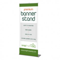Premium Pull-up Banner Stand