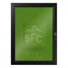 A4 Black Lockable Poster Frame
