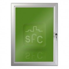 500mm x 700mm Aluminium Lockable Poster Frame