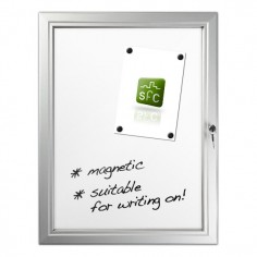 Magnetic Locking Noticeboard 4 x A4