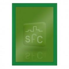 A4 Green Snap Frame 32mm