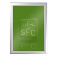 A0 Aluminium Tamper Resistant Snap Frame